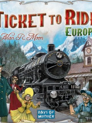Buy Ticket to Ride: Europe only at Bored Game Company.