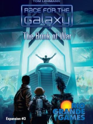 Buy Race for the Galaxy: The Brink of War only at Bored Game Company.
