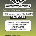 Buy Mayday Standard Sleeves: Tarot Card Sleeves (70 x 120mm) - Pack of 100 only at Bored Game Company.