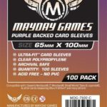 """Buy Mayday Standard Sleeves: """"7 Wonders"""" Card Sleeves - Magnum Ultra-Fit Sleeves (65 x 100mm) - Pack of 100 only at Bored Game Company."""