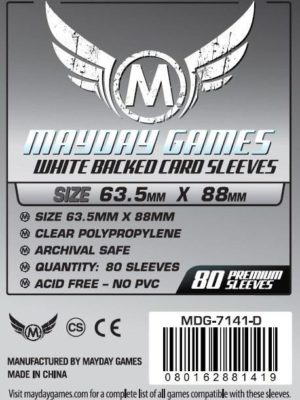 Buy Mayday Premium Sleeves: MTG/CCG Card Sleeves (63.5 x 88mm) - Pack of 80 only at Bored Game Company.