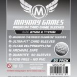 Buy Mayday Premium Sleeves: Munchkin Dungeon Sleeves - Magnum Oversized Sleeves (87 x 112mm) - Pack of 50 only at Bored Game Company.