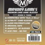 """Buy Mayday Premium Sleeves: """"Sails of Glory"""" Card Sleeves (50 x 75mm) - Pack of 50 only at Bored Game Company."""