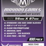 Buy Mayday Standard Sleeves: Standard USA Card Sleeves (56 x 87mm) - Pack of 100 only at Bored Game Company.