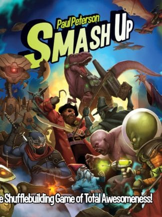 Buy Smash Up only at Bored Game Company.