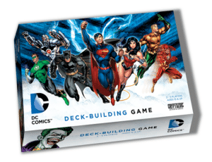 Buy DC Comics Deck-Building Game only at Bored Game Company.