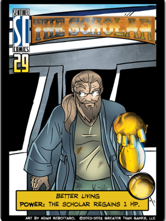 Buy Sentinels of the Multiverse: The Scholar Hero Character only at Bored Game Company.