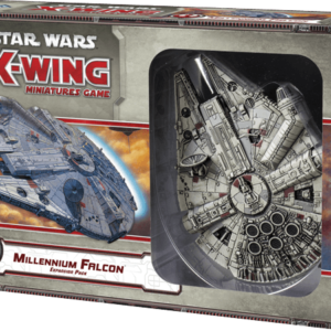 Buy Star Wars: X-Wing Miniatures Game – Millennium Falcon Expansion Pack only at Bored Game Company.