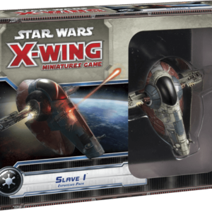 Buy Star Wars: X-Wing Miniatures Game – Slave I Expansion Pack only at Bored Game Company.