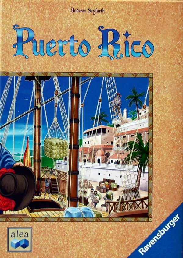 Buy Puerto Rico only at Bored Game Company.