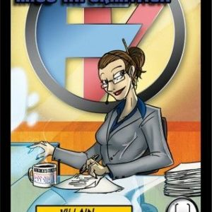 Buy Sentinels of the Multiverse: Miss Information Villain Character only at Bored Game Company.
