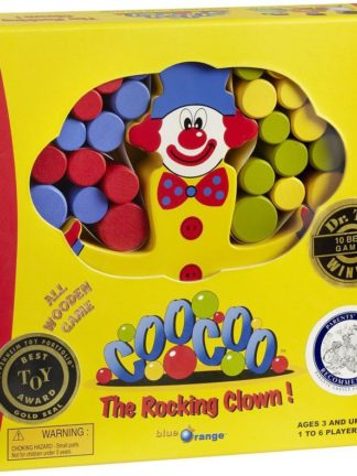 Buy CooCoo the Rocking Clown! only at Bored Game Company.