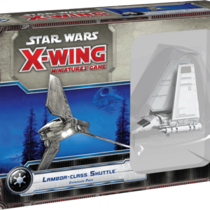 Buy Star Wars: X-Wing Miniatures Game – Lambda-class Shuttle Expansion Pack only at Bored Game Company.