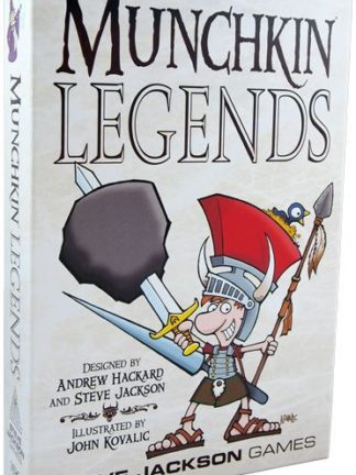 Buy Munchkin Legends only at Bored Game Company.