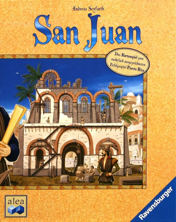 Buy San Juan only at Bored Game Company.