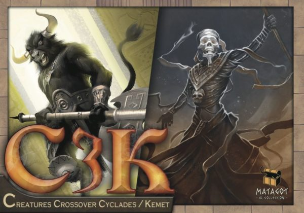 Buy C3K: Creatures Crossover Cyclades/Kemet only at Bored Game Company.