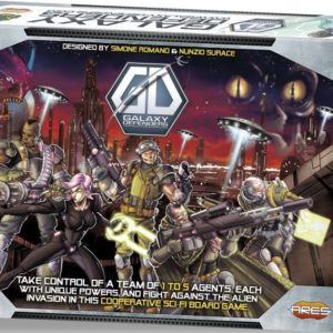 Buy Galaxy Defenders only at Bored Game Company.