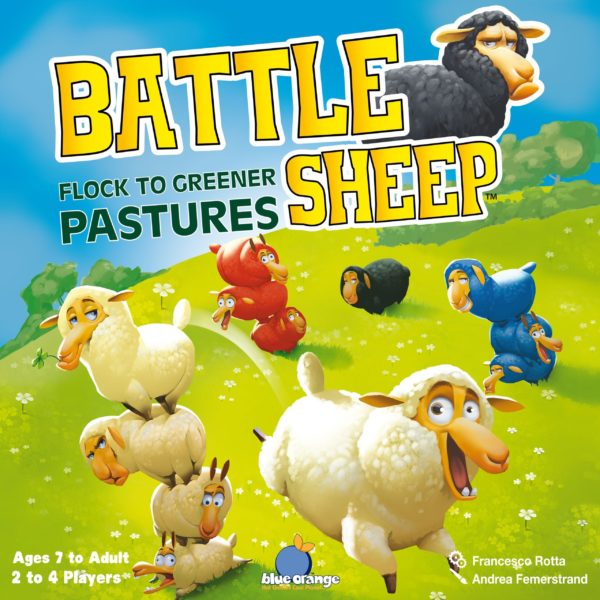 Buy Battle Sheep only at Bored Game Company.