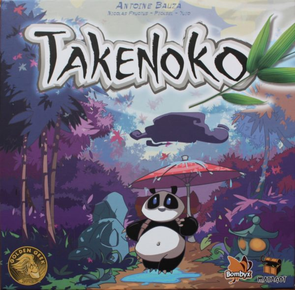 Buy Takenoko only at Bored Game Company.