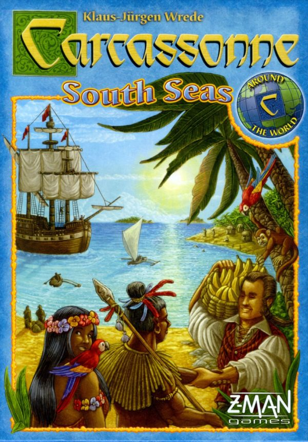 Buy Carcassonne: South Seas only at Bored Game Company.