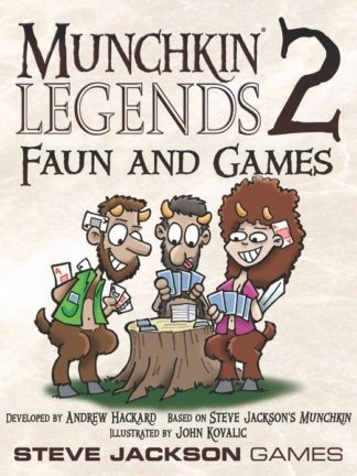 Buy Munchkin Legends 2: Faun and Games only at Bored Game Company.