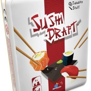 Buy Sushi Draft only at Bored Game Company.