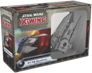 Buy Star Wars: X-Wing Miniatures Game – VT-49 Decimator Expansion Pack only at Bored Game Company.