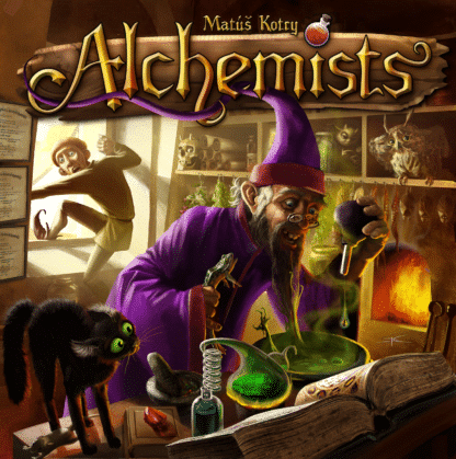 Buy Alchemists only at Bored Game Company.