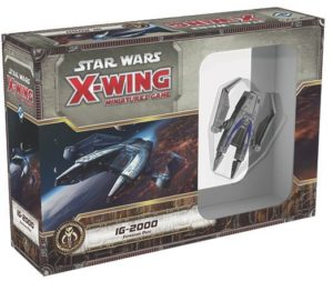 Buy Star Wars: X-Wing Miniatures Game – IG-2000 Expansion Pack only at Bored Game Company.