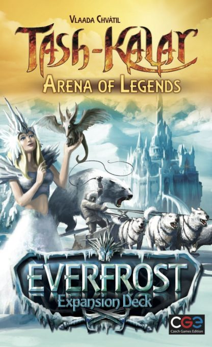 Buy Tash-Kalar: Arena of Legends – Everfrost only at Bored Game Company.
