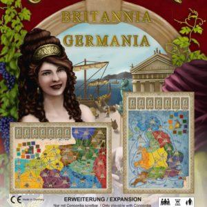 Buy Concordia: Britannia / Germania only at Bored Game Company.