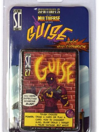 Buy Sentinels of the Multiverse: Guise Hero Character only at Bored Game Company.