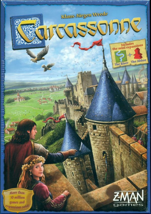 Buy Carcassonne only at Bored Game Company.
