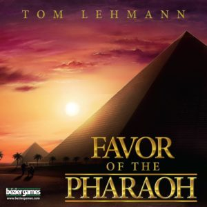 Buy Favor of the Pharaoh only at Bored Game Company.