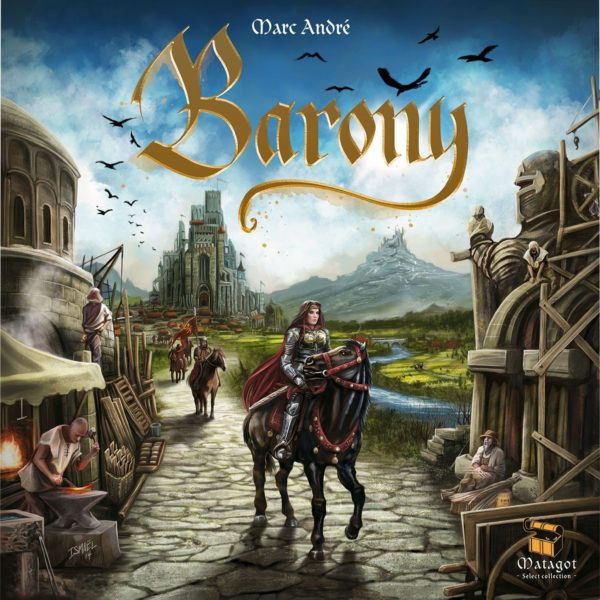 Buy Barony only at Bored Game Company.
