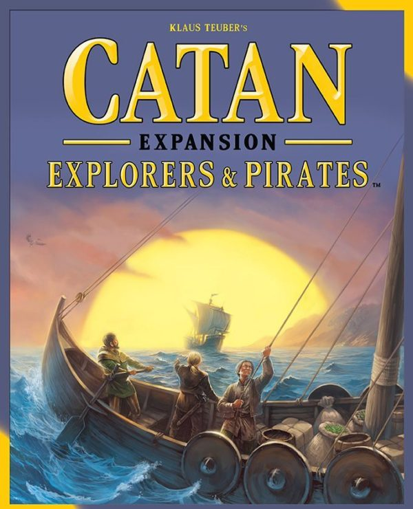 Buy Catan: Explorers & Pirates only at Bored Game Company.