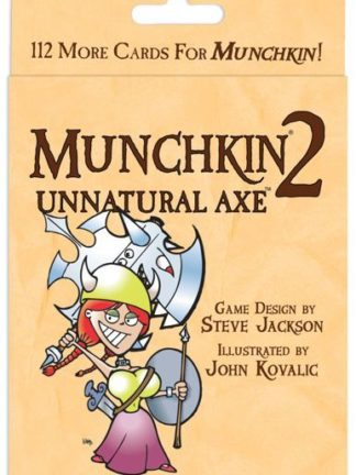 Buy Munchkin 2: Unnatural Axe only at Bored Game Company.
