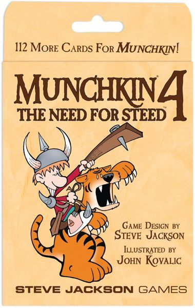 Buy Munchkin 4: The Need for Steed only at Bored Game Company.