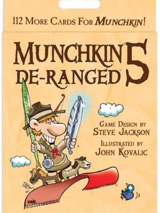 Buy Munchkin 5: De-Ranged only at Bored Game Company.