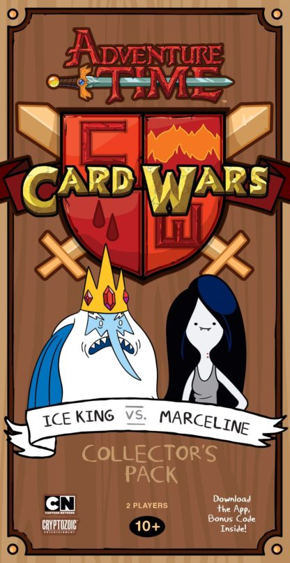 Buy Adventure Time Card Wars: Ice King vs. Marceline only at Bored Game Company.
