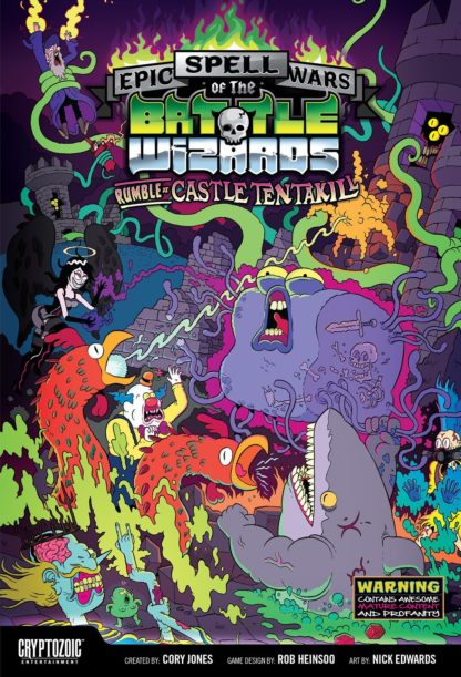 Buy Epic Spell Wars of the Battle Wizards: Rumble at Castle Tentakill only at Bored Game Company.