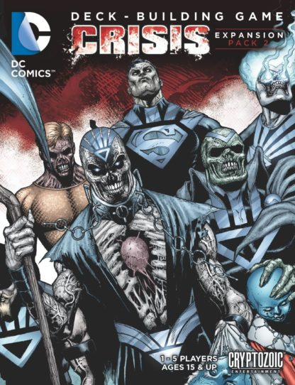 Buy DC Comics Deck-Building Game: Crisis Expansion Pack 2 only at Bored Game Company.