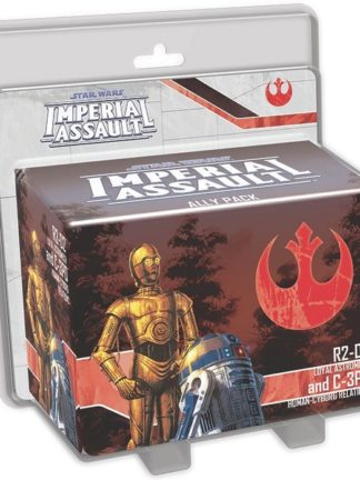 Buy Star Wars: Imperial Assault – R2-D2 and C-3PO Ally Pack only at Bored Game Company.