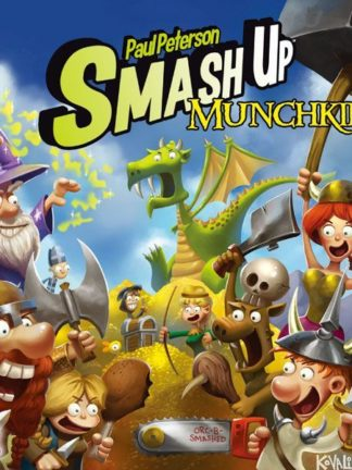 Buy Smash Up: Munchkin only at Bored Game Company.