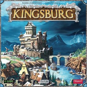 Buy Kingsburg only at Bored Game Company.