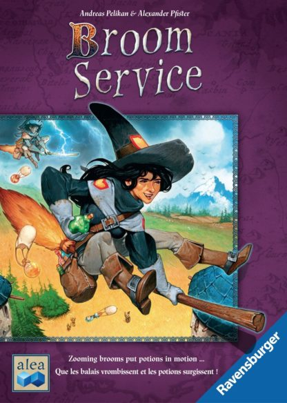 Buy Broom Service only at Bored Game Company.