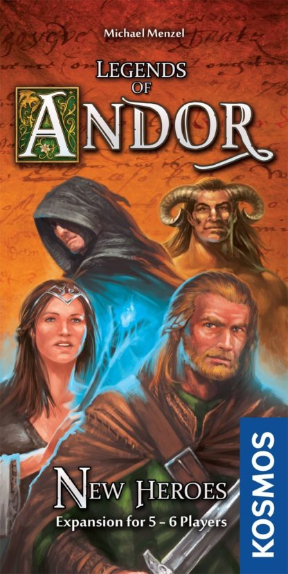 Buy Legends of Andor: New Heroes only at Bored Game Company.