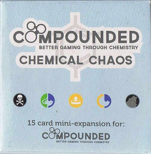 Buy Compounded: Chemical Chaos only at Bored Game Company.
