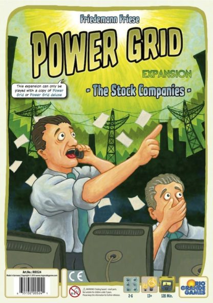 Buy Power Grid: The Stock Companies only at Bored Game Company.