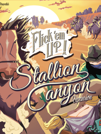 Buy Flick 'em Up!: Stallion Canyon only at Bored Game Company.